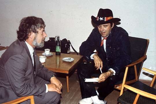 JSP and Bobby Bare (USA) - Prague 1986