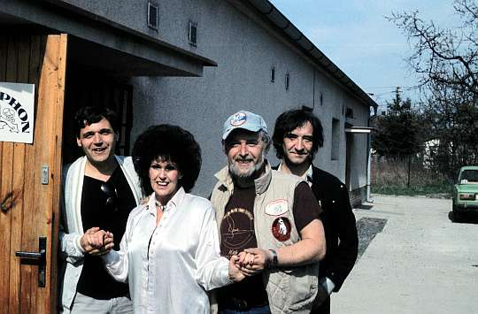 Karel Zich, Wanda Jackson (USA), JSP and Michal Bukovič - Prague 1987
